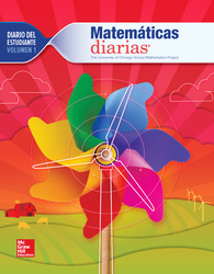 Everyday Mathematics 4th Edition, Grade 1, Spanish Math Journal, vol 1