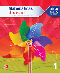 Everyday Mathematics 4th Edition, Grade 1, Spanish Teacher's Lesson Guide, vol 1