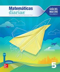 Everyday Mathematics 4th Edition, Grade 5, Spanish Teacher's Lesson Guide, vol 1