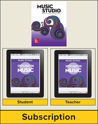 Spotlight on Music, Grade 8 Digital Bundle, 1 Year
