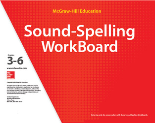 Reading Wonderworks Sound-Spelling WorkBoards Grades 3-6