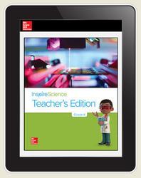 Inspire Science Grade 4, Online Teacher Center, 7-Year Subscription