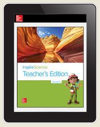 Inspire Science Grade 5, Online Teacher Center, 7-Year Subscription