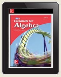 Essentials for Algebra Online Teacher, 1-year subscription