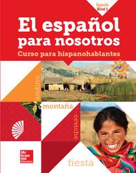 El Español para Nosotros 2014, Level 1, SE