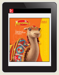 Maravillas Student Workspace (6-Year Subscription), Grade 3