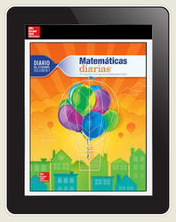 Everyday Math Spanish Digital Student Learning Center, 1 Year Subscription, Grade 3
