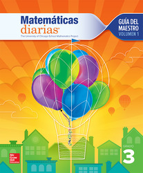 Everyday Mathematics 4th Edition, Grade 3, Spanish Teacher's Lesson Guide, vol 1
