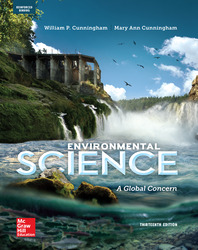 Cunningham, Environmental Science: A Global Concern © 2015 13e, AP Student Edition (Reinforced Binding)