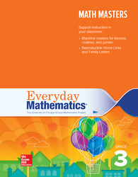 Everyday Mathematics 4, Grade 3, Math Masters