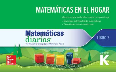 Everyday Mathematics 4th Edition, Grade K, Spanish Math at Home 3