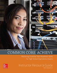 Common Core Achieve, Mathematics Instructor Guide