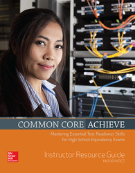 Common Core Achieve, Mathematics Instructor Guide