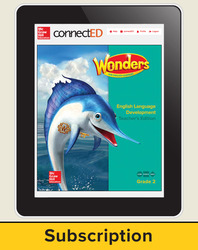 Wonders for English Learners Teacher Workspace, Grade 2, 6 Yr Subscription