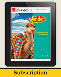 Wonders for English Learners Teacher Workspace, Grade 3, 6 Yr Subscription