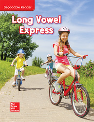 Wonders Long Vowel Express, Grade K