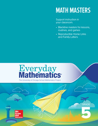 Everyday Mathematics 4, Grade 5, Math Masters