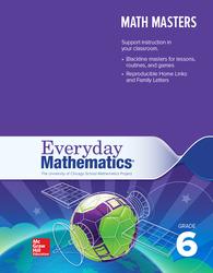 Everyday Mathematics 4, Grade 6, Math Masters