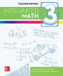 Integrated Math, Course 3, Teacher Edition