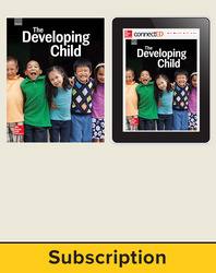 Glencoe The Developing Child, Print Student Edition and Online SE Bundle, 6 year subscription