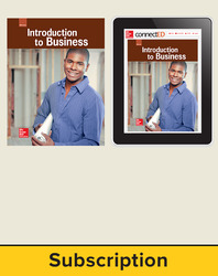 Glencoe Introduction to Business, Print Student Edition and Online SE Bundle, 6 year subscription
