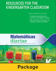 Everyday Mathematics 4, Grade K, Resources for the Kindergarten Classroom