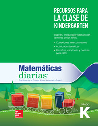 Everyday Mathematics 4th Edition, Grade K, Spanish Resources for the K Classroom