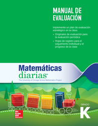 Everyday Mathematics 4th Edition, Grade K, Spanish Assessment Handbook