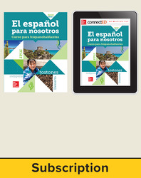 El Espanol para Nosotros Level 2 Student Edition with Online Student Edition, 6-year subscription