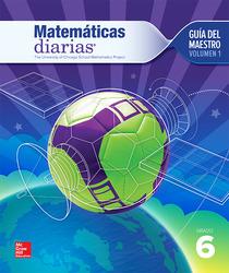 Everyday Mathematics 4th Edition, Grade 6, Spanish Teacher's Lesson Guide, vol 1