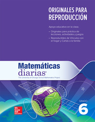 Everyday Mathematics 4th Edition, Grade 6, Spanish Math Masters