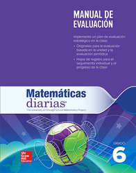 Everyday Mathematics 4th Edition, Grade 6, Spanish Assessment Handbook