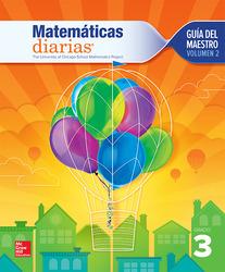Everyday Mathematics 4th Edition, Grade 3, Spanish Teacher's Lesson Guide, vol 2