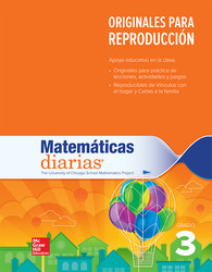 Everyday Mathematics 4th Edition, Grade 3, Spanish Math Masters