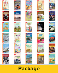 Lectura Maravillas, Leveled Readers Package, Approaching (1 each of 30 titles)