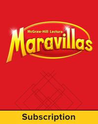 Lectura Maravillas, Grade 1, Literature Anthology 6 Year Subscription