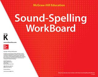 Reading Wonderworks Sound-Spelling WorkBoards Grade K