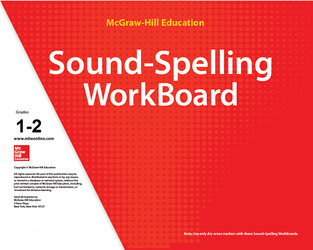 Reading Wonderworks Sound-Spelling WorkBoards Grades 1-2