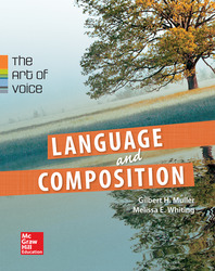 Muller, Language and Compostion: The Art of Voice, 2014, 1e, ConnectED eBook, 6-year subscription