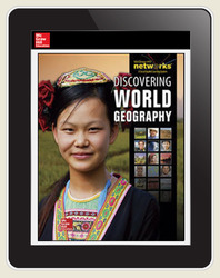 Discovering World Geography, LearnSmart, Student Edition, Embedded, 1-year subscription