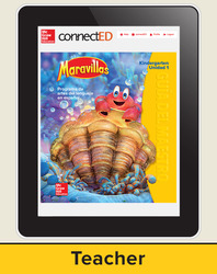 Maravillas Teacher Workspace (6-Year Subscription), Kindergarten