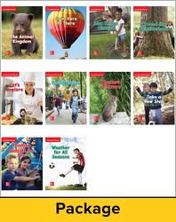 Wonders Decodable Reader Package (10 each of 11), Grade K