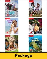 Wonders Decodable Reader Package (6 each of 6), Grade 1