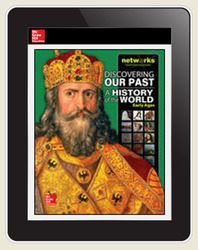 Discovering Our Past: A History of the World - Early Ages, LearnSmart, Teacher Edition, Embedded, 1-year subscription