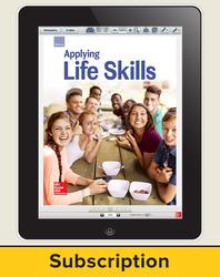 Glencoe Applying Life Skills, Online Student Edition, 6 year subscription