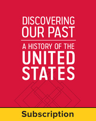 Discovering Our Past: A History of the United States, LearnSmart, Student Edition, Embedded, 1-year subscription