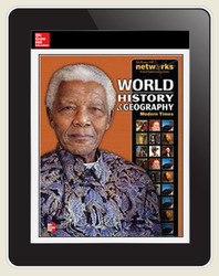World History and Geography: Modern Times, LearnSmart, Student Edition, Embedded, 1-year subscription