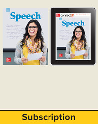 Glencoe Speech, Print Student Edition and Online SE Bundle, 1 year subscription