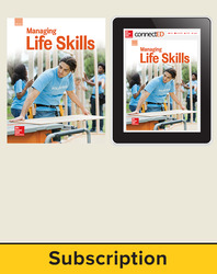 Glencoe Managing Life Skills, Print Student Edition and Online SE Bundle, 6 year subscription