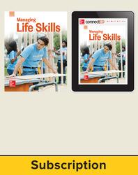 Glencoe Managing Life Skills, Print Student Edition and Online SE Bundle, 1 year subscription